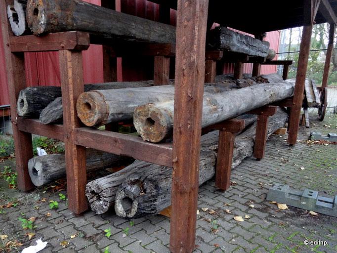 Soleleitungen aus Holz
