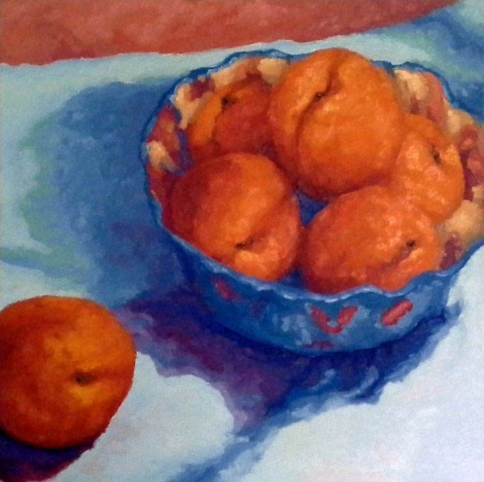 Indubitably Apricots, 24x24, SOLD