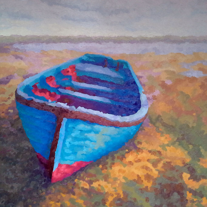Tide's Out, 36 x 36, SOLD