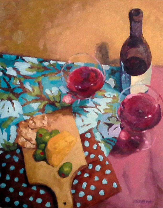 Party Of Two, 20x16, SOLD