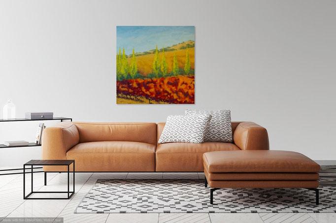 Vineyard Vista, 36x 36, available.