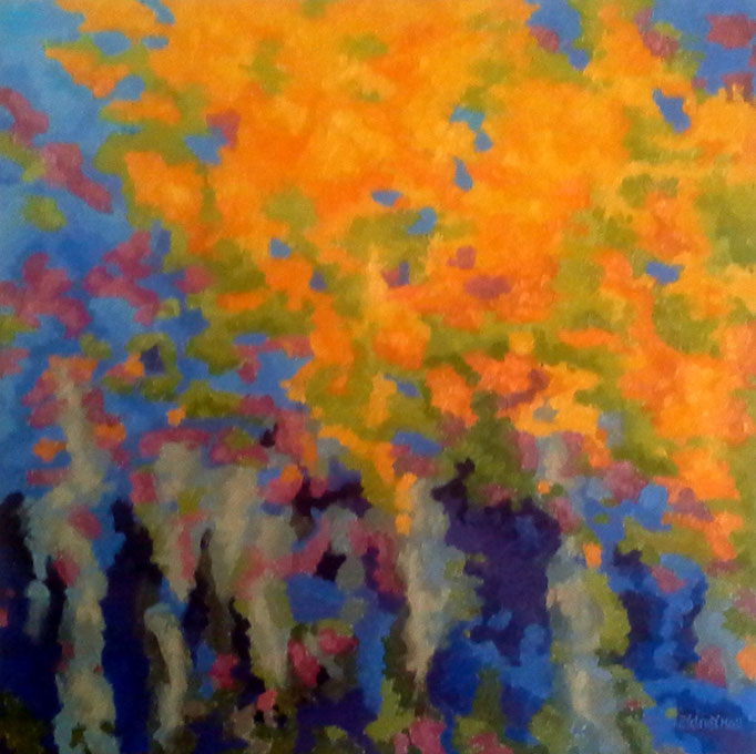Autumn Melody, 24x24, SOLD