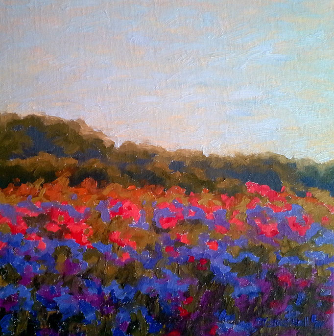 Summer Light, 12x12, SOLD
