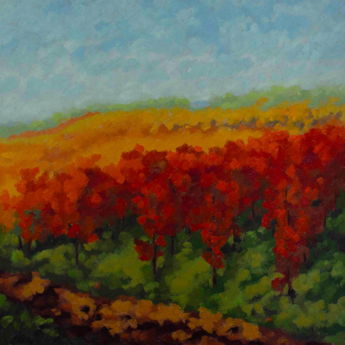 Autumn Glow, 24 x 24, SOLD