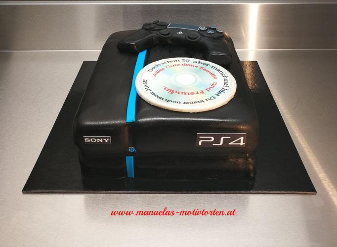 PS4 Torte
