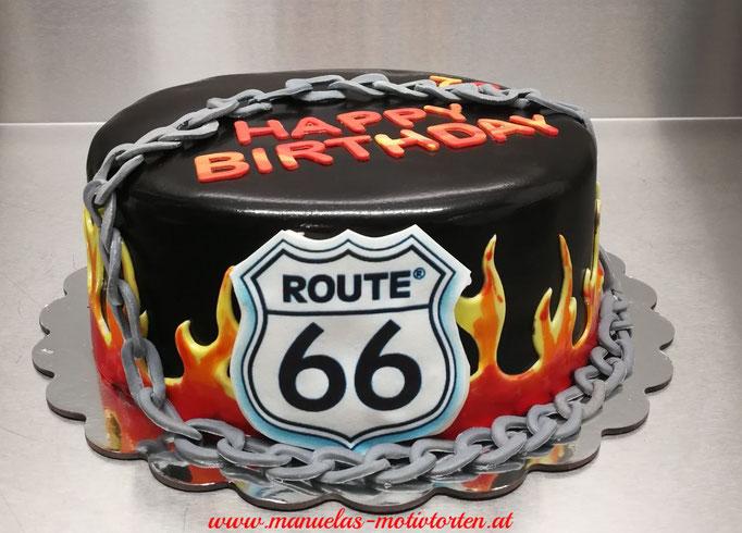 Route 66 Torte