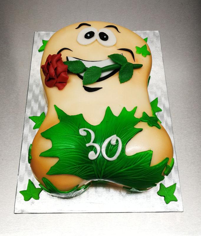 Überraschungs Torte