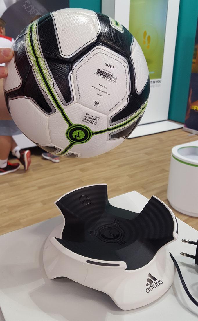 Adidas Ballon connecté