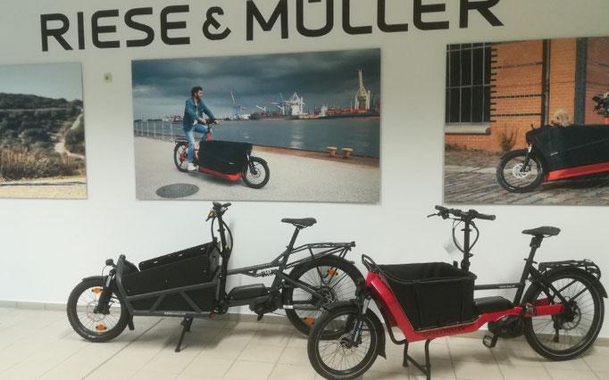 In unserem Lastenfahrrad-Zentrum in München beraten wir Sie gerne