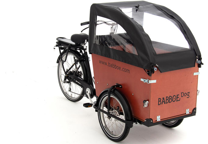 Der Babboe Dog-E mit Verdeck 2020