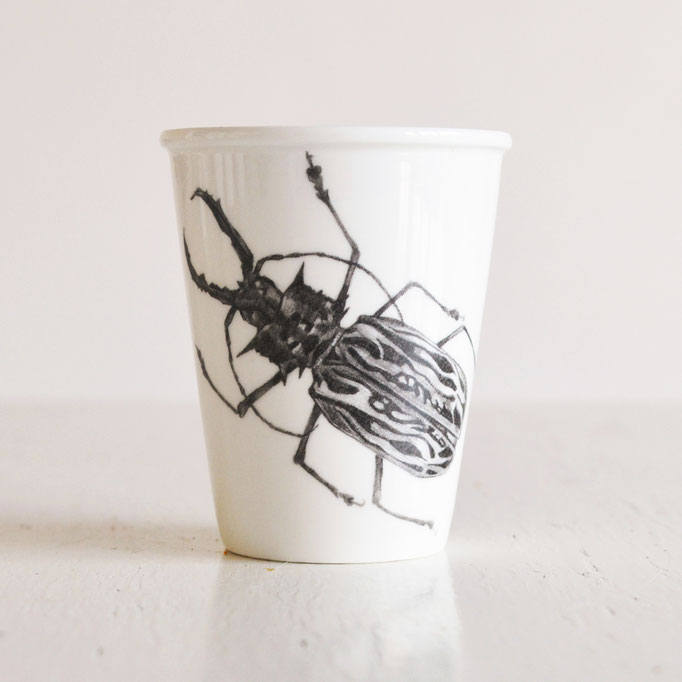 Beetle cup from own productrange