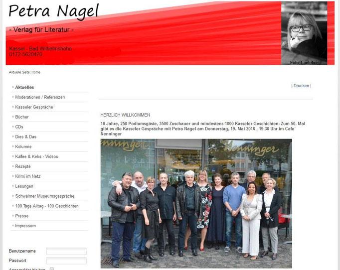 50igste Kasseler Gespräche / Café Nenninger Mai 2016