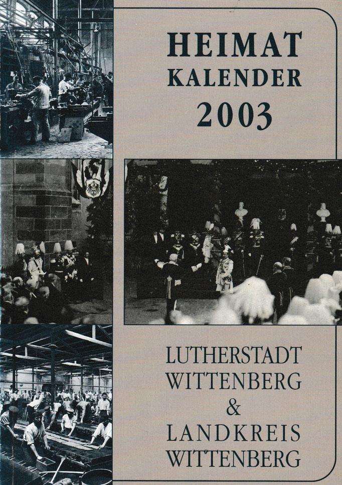 Heimatkalender 2003