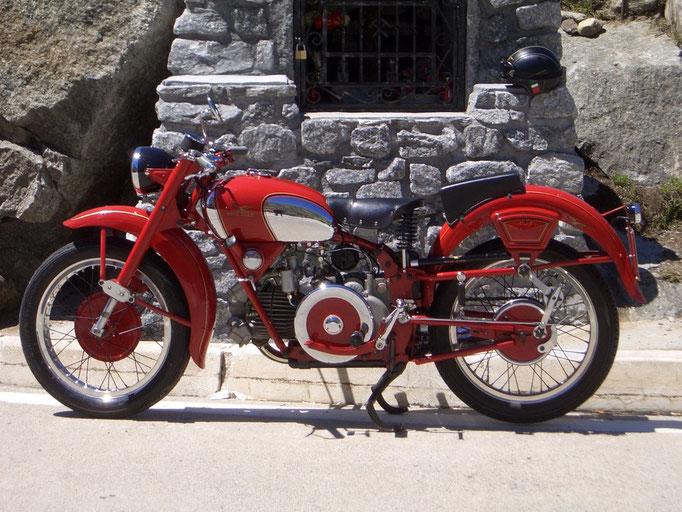 Moto Guzzi  Falcone Sport - 1951