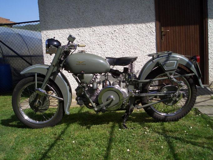 Moto Guzzi 500 Falcone Militare - 1962