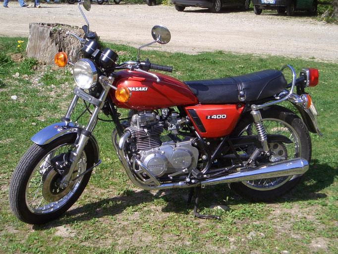 Kawasaki Z 400 - 1977