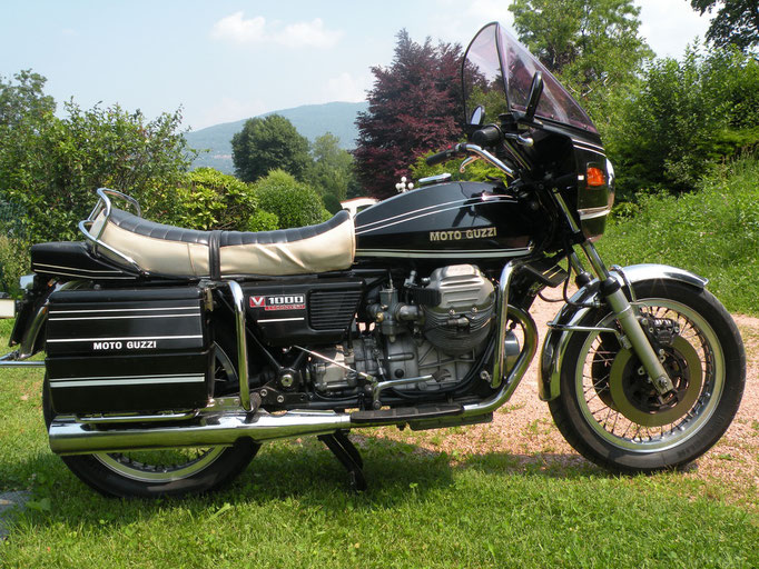 Moto Guzzi 1000 Idroconvert -1976