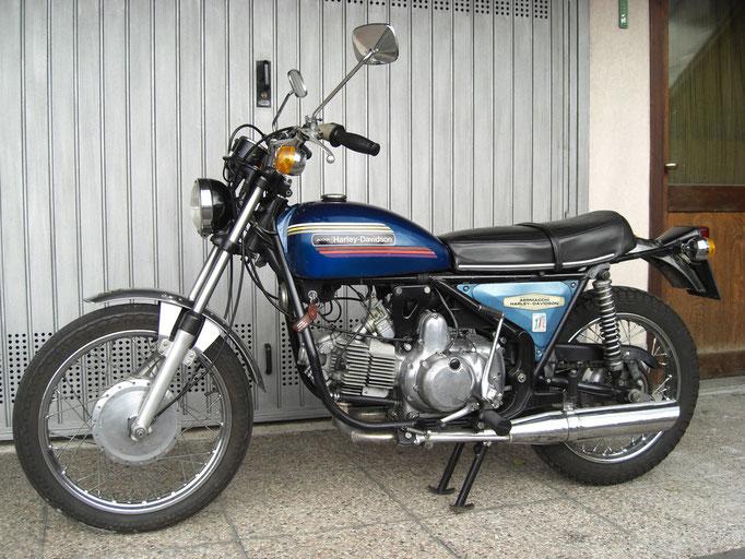 Aermacchi - Harley Davidson 350 SS - 1974