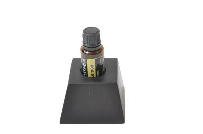 Grenadilholz Aufsteller/Display für 1 Fl. dōTERRA oil