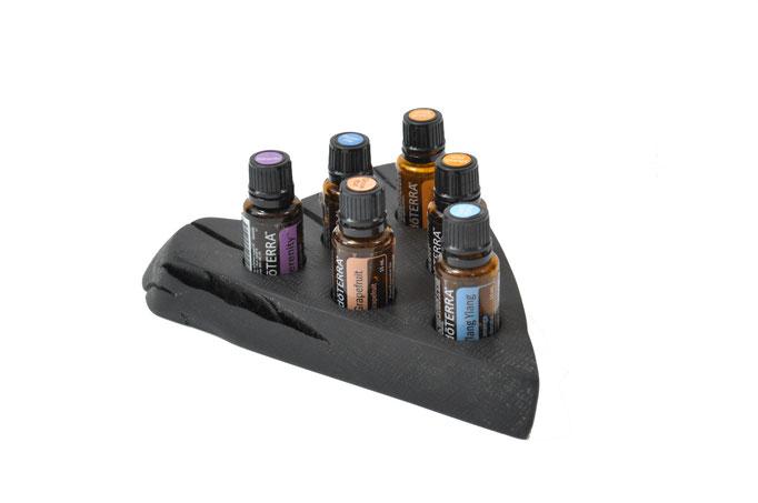 Mooreichenholz Aufsteller/Display für 6 Fl. dōTERRA oil