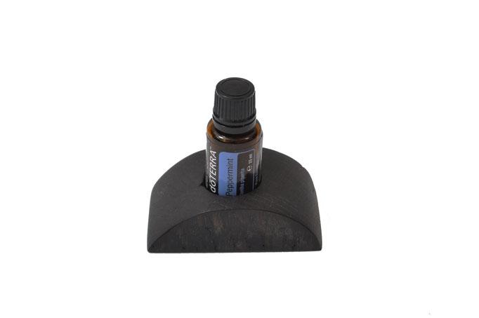 Räuchereichenholz Aufsteller/Display für 1 Fl. dōTERRA oil