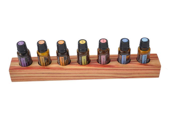 Rosenholz Aufsteller/Display für 8 Fl. dōTERRA oil