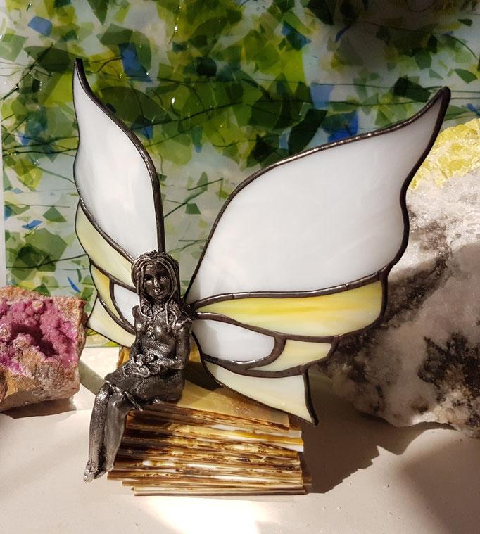 Glas in lood elfje Pippa