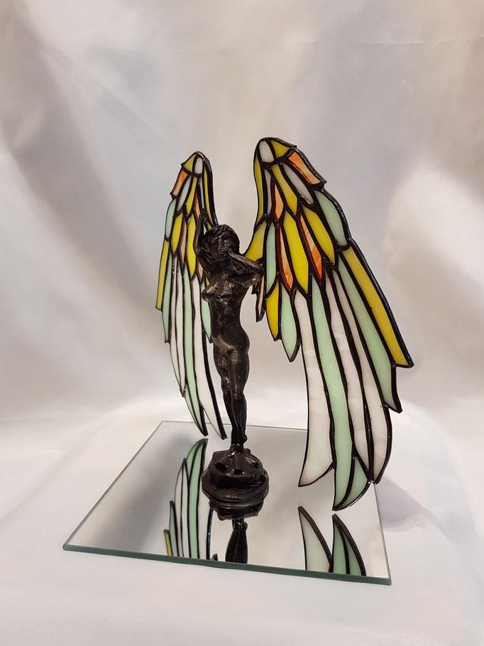 Glas in lood engel Anne