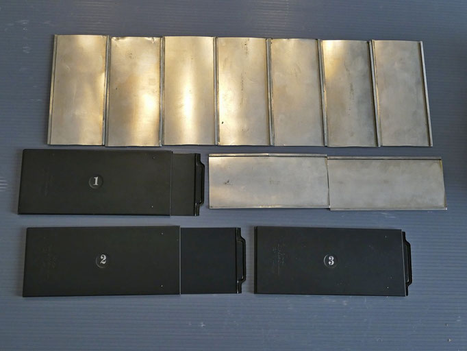 Ica Plaskop - Telai portalastre 45x107 e chassis per portalastre