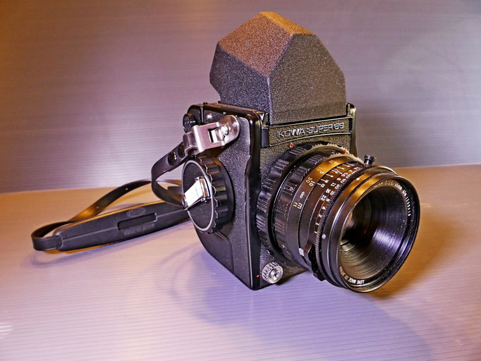 KOWA SUPER 66 CON PENTAPRISMA  VIEWFINDER