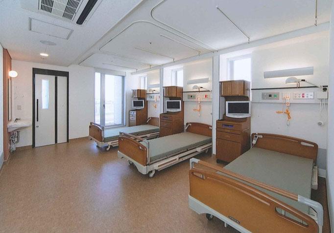 3病床の病室