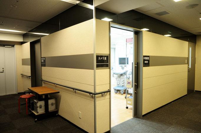 各検査室前廊下