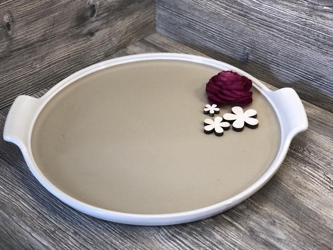 Runder Stoneware-Stein 38 cm Ø