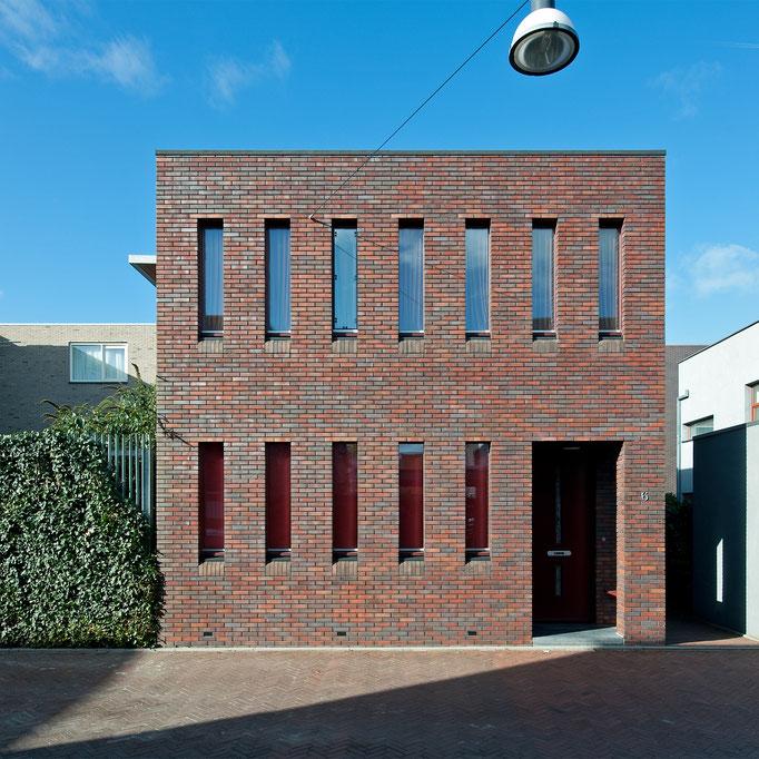 Straatzijde woonhuis te Groningen (Bastion)