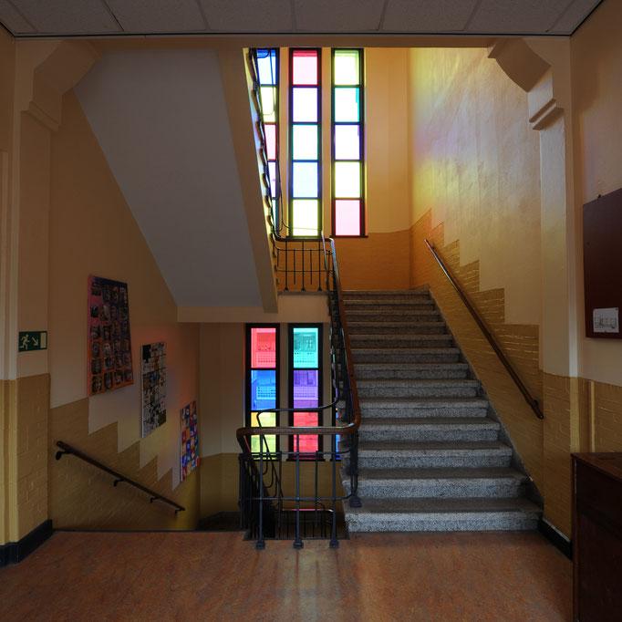Groningen - Sint Michaëlschool (vernieuwd trappenshuis)
