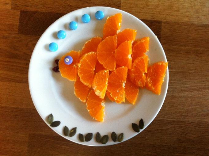 Orangen-Fisch