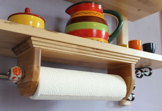 Küchenrollenhalter - Heimwerker - tutorial zum Thema DIY