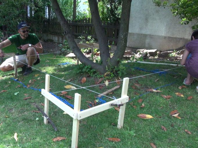 punktfundament betonieren heimwerker tutorial zum thema diy. Black Bedroom Furniture Sets. Home Design Ideas