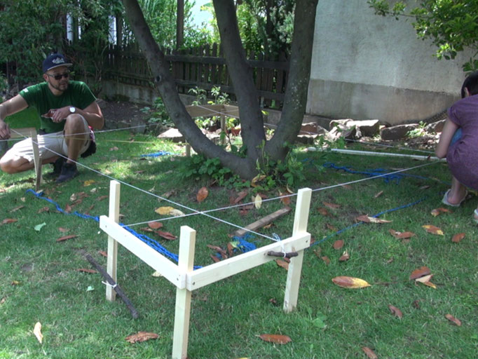 punktfundament betonieren heimwerker tutorial zum. Black Bedroom Furniture Sets. Home Design Ideas