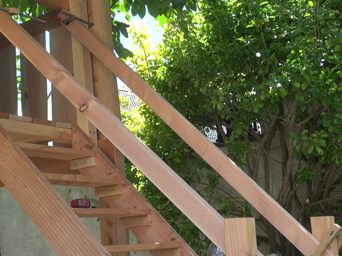 treppe selber bauen heimwerker tutorial zum thema diy. Black Bedroom Furniture Sets. Home Design Ideas