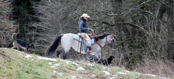 Februar 2014 mit Nadja