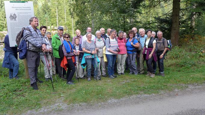 Wandergruppe am Pudelstein