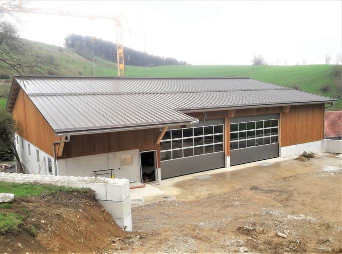 Neubau Mehrzweckgebäude Benken, Oberhof