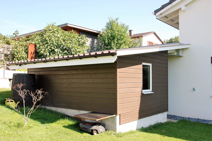 Anbau Gartenhaus