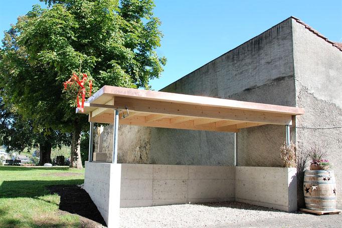 Neubau Velounterstand