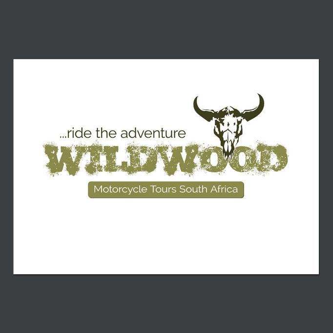 Logo Design, Wildwood Motorcycle Tours South Africa