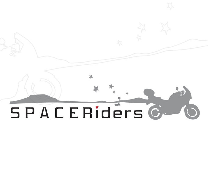 Corporate logo design, Space Riders South Africa