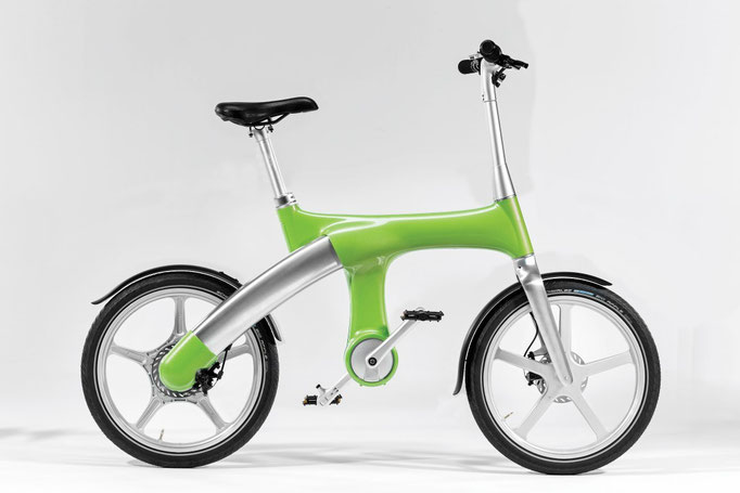 Mando Footloos IM e-Bike - grün, 2990 CHF