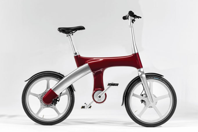 Mando Footloos IM e-Bike - rot, 2990 CHF