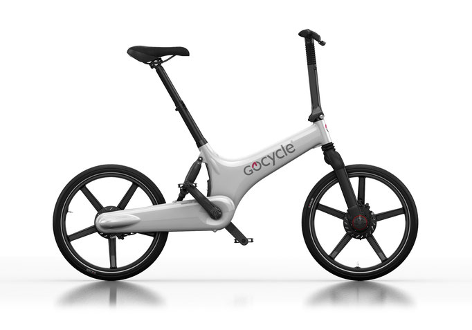 Gocycle G3 weiß